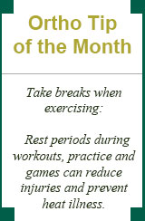 Ortho Tip of the month