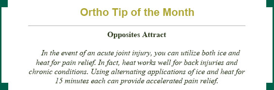 Ortho Tip of the Month: opposites attract