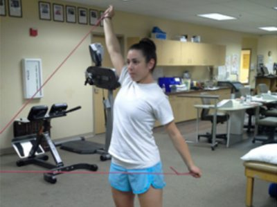 Scapular stability exercises